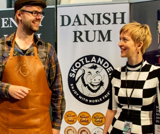 Rum connoisseurs interview of the week: ANDERS SKOTLANDER & TITTE HANSEN: The power-house team behind Skotlander Rum!