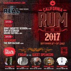 THIRD ANNUAL CALIFORNIA RUM FESTIVAL RETURNS TO SAN FRANCISCO