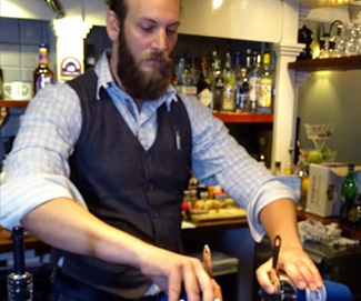 Rum Connoisseur Interview of The Week: Pusser's Rum Bartender  RYAN BRODIE Bar Manager at Oddfellow's in Exeter.